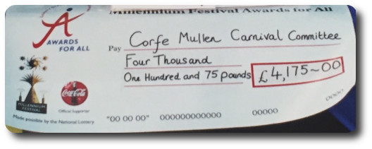 Lottery Cheque